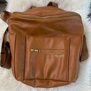 Fawn Design Diaper Bag original Cognac camel